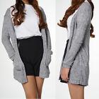Women Cardigan Loose Sweater Long Sleeve Knitted Outwear Jacket Coat Tops Hot