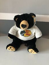 BIG BASS PRO SHOPS WHITE SWEATER BLACK TEDDY BEAR PETTING ZOO 1994 PLUSH GRIZZLY