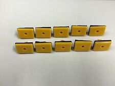 QTY 10: Yellow Rocker Moulding Grommet With Sealer Clip For Hyundai 87759-27000