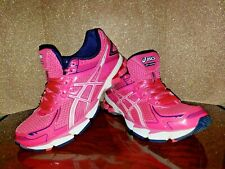RARE! WOMEN'S PINK BREAST CANCER ASICS DUO MAX GEL SHOES SZ 7 GT-1000 RUNNING