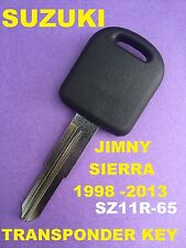 Suzuki Sierra  Transponder Car Key Blank Suzuki Jimny key   SZ11R -65