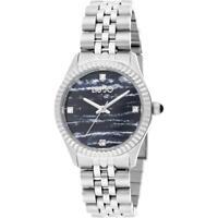 Orologio Donna LIU JO Luxury TINY TLJ1305 Bracciale Acciaio Nero Swarovski