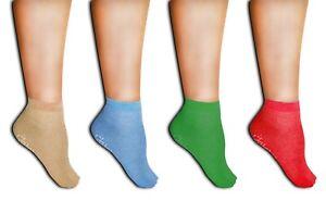 Medi-Inn Anti-Rutsch-Socken 100% Polyester 2-seitig beschichtet mit Gummi-Noppen
