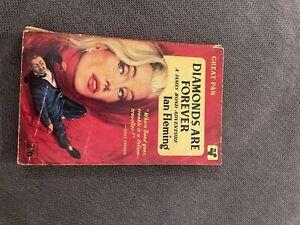 Diamonds Are Forever James Bond Pan Books 1959 3rd Printing