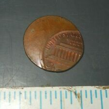 Error Mis-struck Off Center US Lincoln Penny One Cent