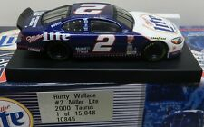 RUSTY WALLACE MILLER LITE 2 FORD TAURUS 2000 00 1/64 NASCAR ACTION