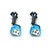 2pcs Useful H4 9003 Headlight Bulb Ceramic Socket Plug Connector Wiring Harness