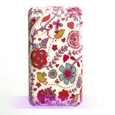 Cute Bird Floral Pattern Hard Case Cover Skin For iPod Touch 4 4th Generation 4G