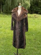 Russian Sable & Swakara Stunning Fur Coat
