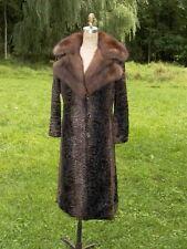 Russian Sable & Swakara Stunning Fur Coat