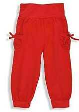 Trendy Süsse Mädchen stretch Hose Leggings rot Baumwolle + Elasthan Gr. 98 - NEU