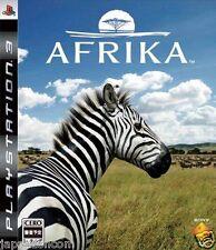 Used PS3 Afrika PLAYSTATION 3 SONY JAPAN JAPANESE IMPORT