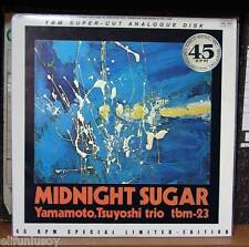 Yamamoto Trio Midnight Sugar TBM-23 / 45 rpm Three Blind 2LP Ultra Sound Quality