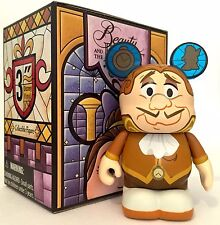 "DISNEY VINYLMATION 3"" BEAUTY AND THE BEAST SERIES 2 COGSWORTH HUMAN FORM CLOCK"