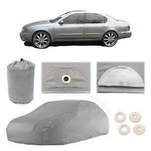 1996-2001 for Infiniti I30 I35 4 Layer Car Cover Fit Water Proof Snow Rain Sun