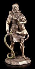 Gilgamesch Figur - Sumerischer König aus Uruk - Veronese Bronze-Optik Statue