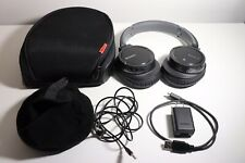 Sony MDR-ZX770BN Bluetooth Noise Canceling Headphones w/Case/Charger/ Cables