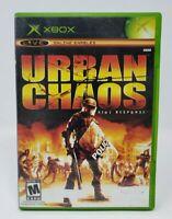 Urban Chaos Riot Response Microsoft Original Xbox Game