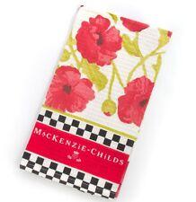 """MacKenzie-Childs Poppy Dish Towel 18"""" x 26"""""""
