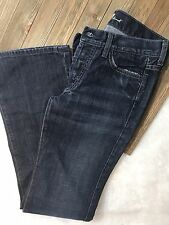 Womens Seven 7 For All Mankind Boy Cut Button Fly Denim Jeans Size 27 x 32