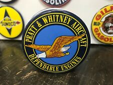 classic PRATT & WHITNEY AIRCRAFT dependable ENGINES top QUALITY MAGNET