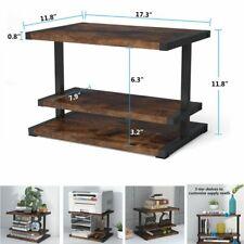 Printer Stand Desktop Organizer Home Office Furniture File Supplies Storage Rack