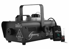Chauvet DJ Hurricane 1000 1L Pro Fog/Smoke Machine w/ Wired & Wireless Remote