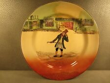English Royal Doulton Dickens Ware Trotty Veck Plate 10 1/4 inches