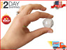 50 Small Clear Round Vending Machine Capsules, Empty Cases for Gumball Toy Mini