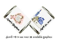 30 Personalized Religious Baptism Communion Hershey Nugget Candy Labels Wrappers