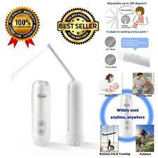 Portable Travel Bidet Washable Electric Spray Handheld Sprayer Toilet Hygiene