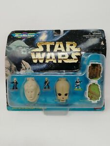 Vintage 1997 Micro Machines Star Wars 68020 Galoob Mini Heads Toys Collection 4