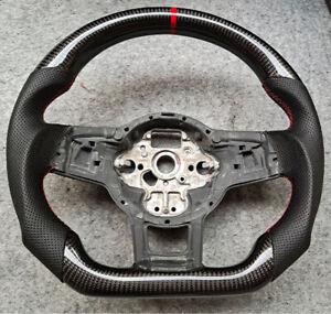 Custom VW Golf R/GTI Carbon Fibre Steering Wheel (Fits MK7 & MK7.5)