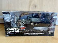 Forces Of Valor Die Cast U.S M3A1 Half-Track Normandy 1944 1:32 Scale New In Box
