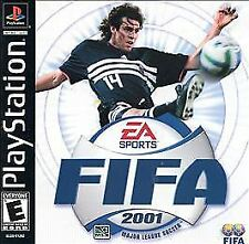 FIFA 2001: Major League Soccer (Sony PlayStation 1, 2000)