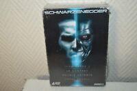 COFFRET 4 DVD SCHWARZENEGGER NEUF TERMNATOR  2 . TOTAL RECALL . DOUBLE DETENTE