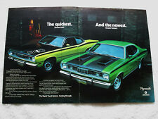 1971 Plymouth Duster 340 / Twister - Ad