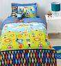 Circus Fun Quilt Cover Set Doona Duvet Boys Bedding Kids Lion Elephant Clown New