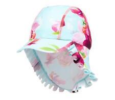 Ted Baker Girl Keppi Hat Sun Protection Floral Pink Green Designer 1-2 Years