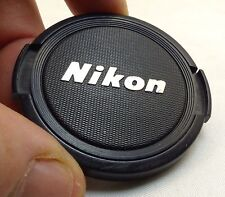 Nikon 52mm Front Lens Cap Snap On Genuine     --  Free Ship Worldwide