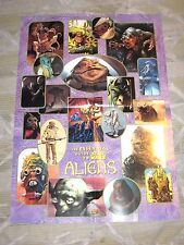 STAR WARS GALAXY ESSENTIAL GUIDE TO ALIENS POSTER! CHEWBACCA YODA JABBA HUTT!