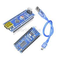 Nano V3.0 Mini USB ATmega328 5V 16M Micro-controller CH340G for Arduino + Cable