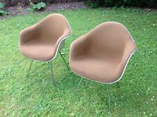 2 Eames DAX Herman Miller dining chairs