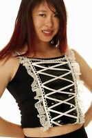 Lolita Moulin Gloss Panel Vest Phaze Clothing Gothic Alternative Womens Top