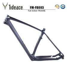 Fat Bike Frames UD Matte Carbon Fiber Mountain Frameset 26ER Snow Bicycle Frames