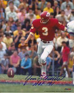 Jan Stenerud Kansas City Chiefs signed 8x10 photo