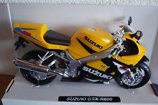 Suzuki Gsx-R 600 Yellow-Black 1:12