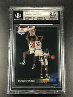 SHAQUILLE O'NEAL SHAQ 1992 UPPER DECK #1 SP ROOKIE RC NM-MINT+ BGS 8.5 NBA (A)