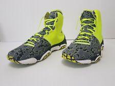 best authentic 874c6 b827c Under Armour Speedform XC Mid Trail Shoes Green Gray Black 1246698 731 Sz 14