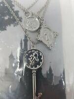 Alice in Wonderland Disney Kingdom & Castles Necklace Charms Brand New
